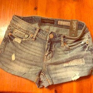 NWT Aeropostale shorty shorts size 00